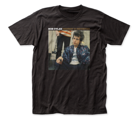 BOB DYLAN T-SHIRT / Bob Dylan Highway 61 Revisited Album Cover Retro Rock Tee