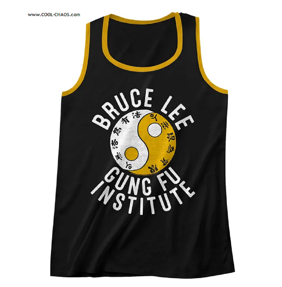 Bruce Lee Yin Yang 'Gung Fu Institute' Men's Tank Top