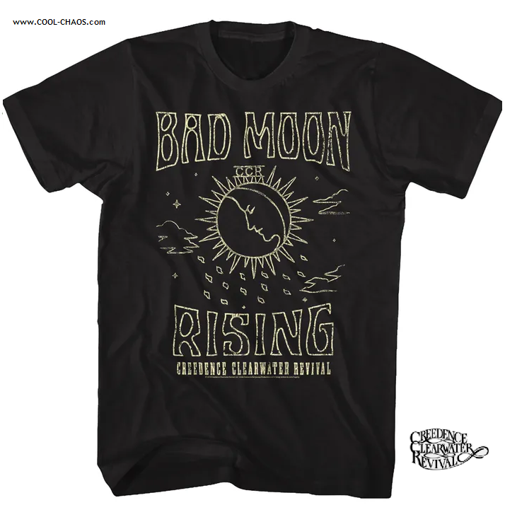 Creedence Clearwater Revival T-Shirt / Bad Moon Rising 70s Throwback Tee