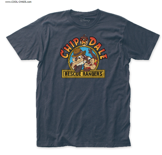 Disney's Chip n Dale T-Shirt / Chip n Dale Rescue Rangers Cartoon Tee