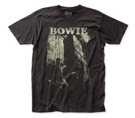 David Bowie T-Shirt / Bowie Guitar Retro Throwback Rock Tee