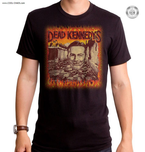 Dead Kennedys T-Shirt / Dead Kennedy's Give Me Convenience Rock Tee