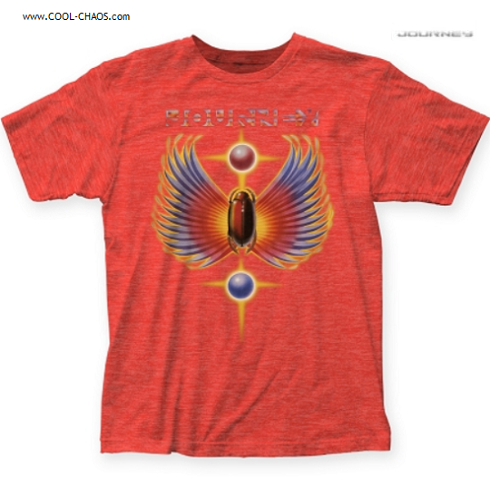Journey T-Shirt / Official Journey Greatest Hits Cover Art Retro Rock Tee