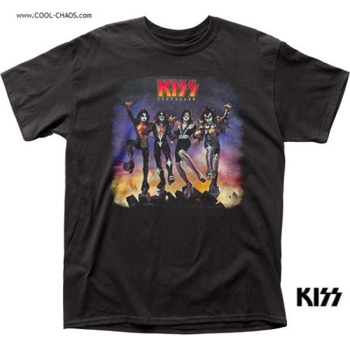 KISS T-Shirt / KISS Destroyer Album - Throwback Rock Tee
