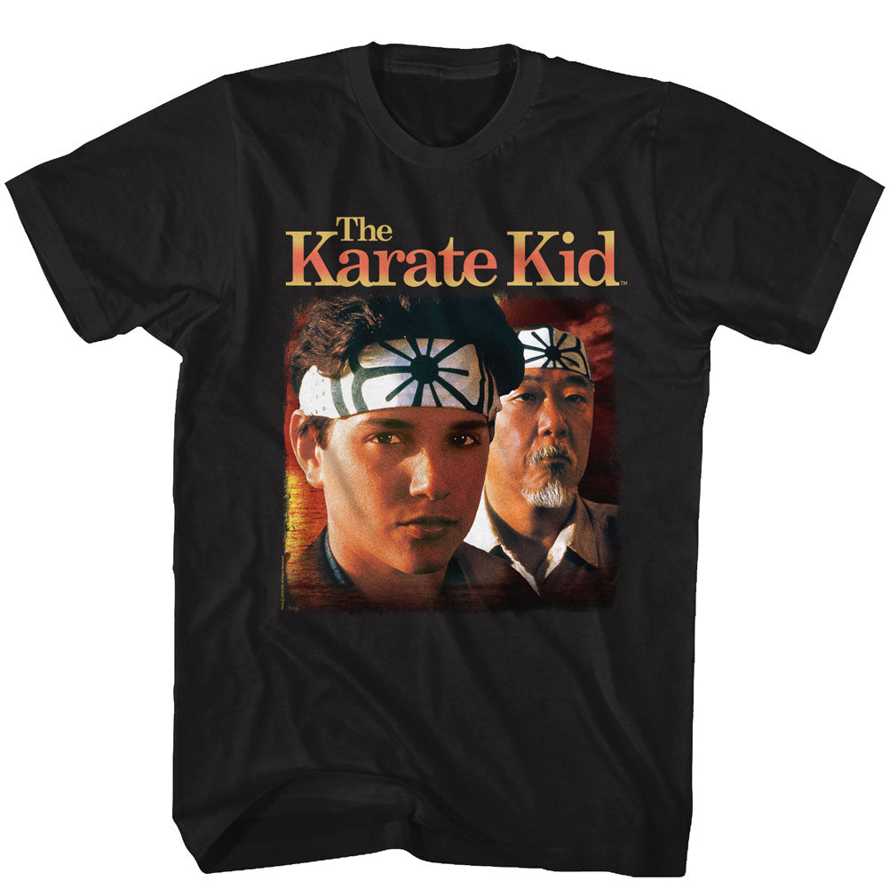 The Karate Kid T-Shirt / The Karate KidW Daniel and Mr. Miyago 80's hrowback RmovieTee