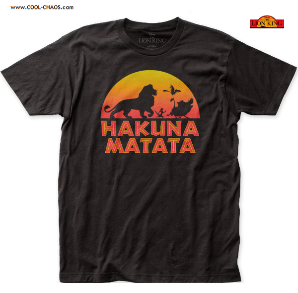 Hakuna Matata T-Shirt / Men's Disney's The Lion King Tee