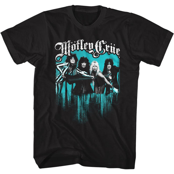 Motley Crue T-Shirt / Motley Crue Girl Don't go away mad Rock Tee