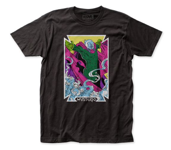 Mysterio T-Shirt / The Mysterio Card Tee by Marvel Comics