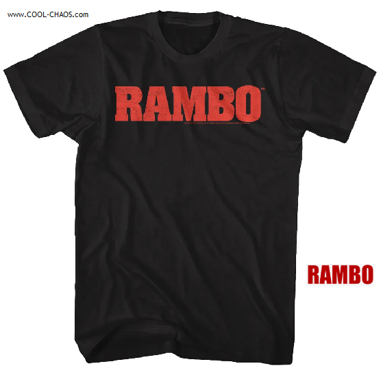 Rambo T-Shirt / Rambo Movie Tee Shirt