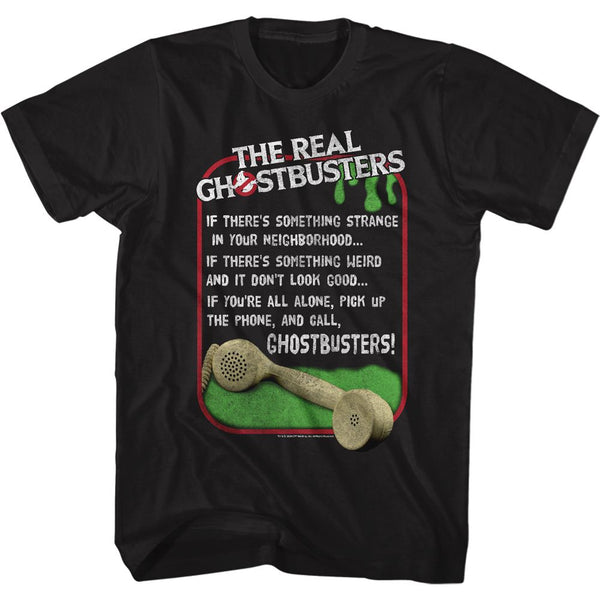 Who ya gonna call? Ghostbusters Song T-Shirt