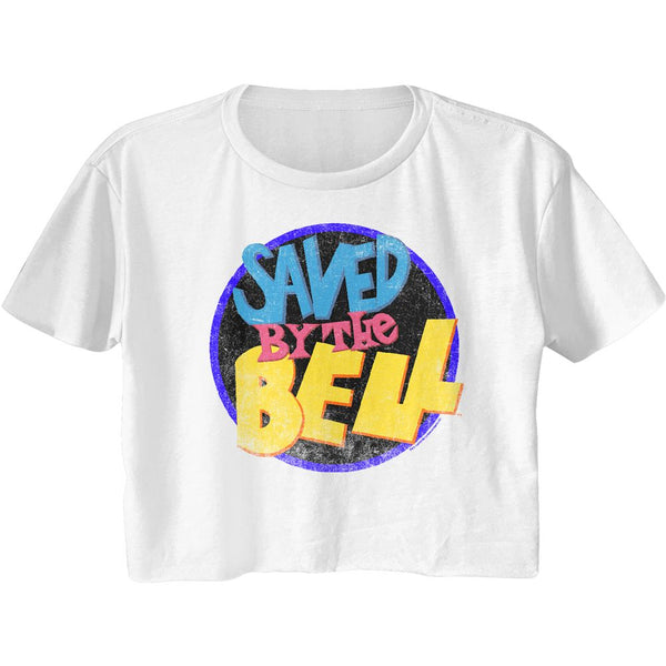 Saved by the Bell Juniors Half Shirt / 90's TV Throwback Crop Top