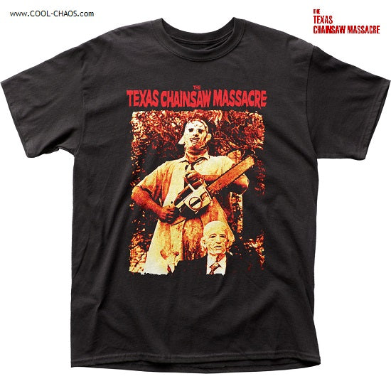 Texas Chainsaw Massacre T-Shirt / Grandpa and Leatherface Tee