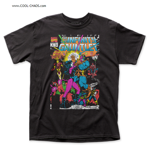 Thanos The Infinity Gauntlet T-Shirt / Thanos Final Battle Comic Book Tee