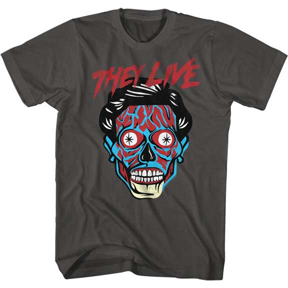 THEY LIVE T-Shirt / Skull-faced Alien