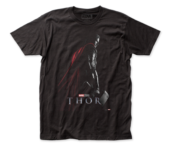 Thor T-Shirt / Chris Hemsworth as Marvel's Thor Movie Poster Tee