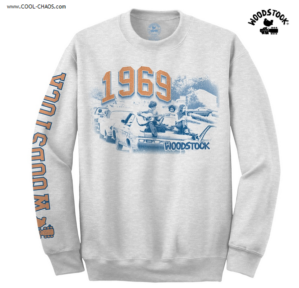 Woodstock Commemorative Anniversary Sweatshirt / 1960's Rock Adult pullover sweatshirt