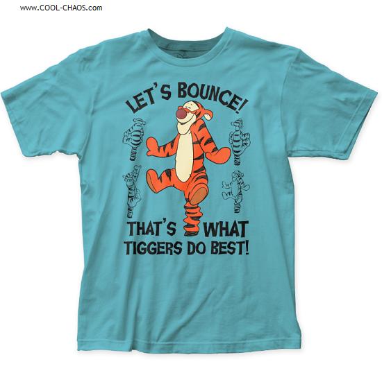 Disney's Tigger T-Shirt / 'Let's Bounce! That's what Tiggers do best! Tigger Tee