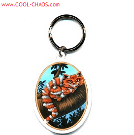 Alice in Wonderland Cheshire Cat Keychain