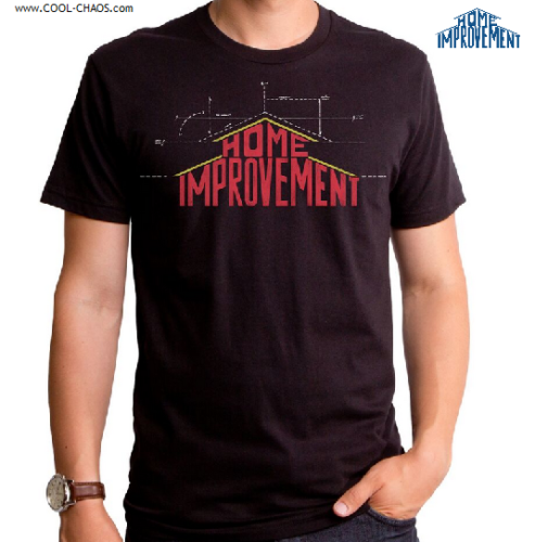 Home Improvement T-Shirt / Tim Allen Home Improvement blueprint Shirt