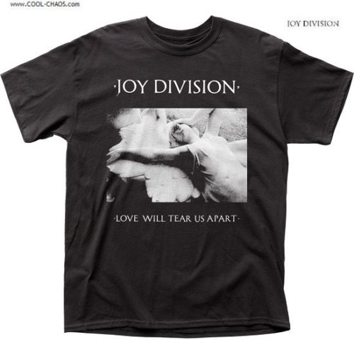 Joy Division T-Shirt / 80's New Wave Love will tear us apart Album