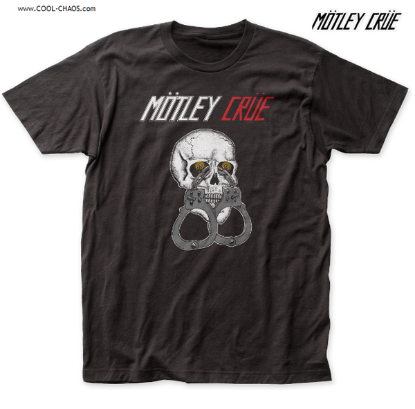 Motley Crue T-Shirt / Retro 80's reissue Throwback! Shout at the Devil Crue Tee