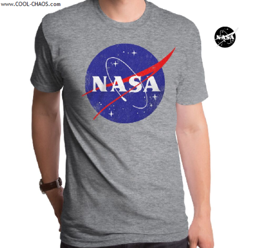 NASA T-Shirt / Official NASA Logo Throwback Tee