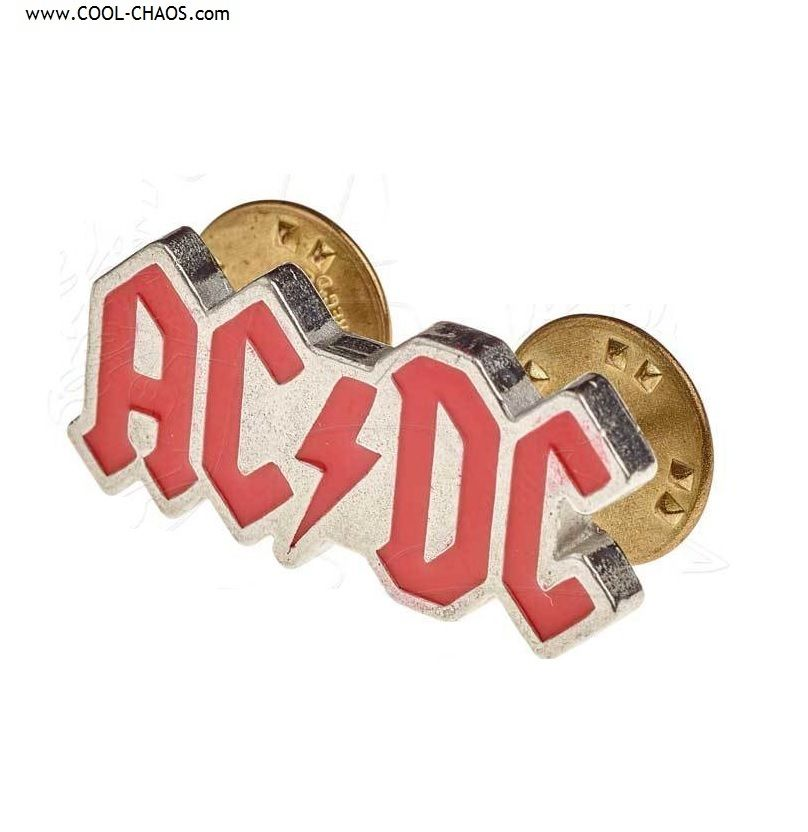AC/DC Pin Official Licensed AC/DC Pewter Collector's Pin