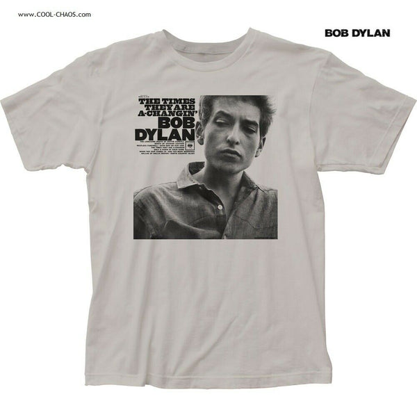 BOB DYLAN T-SHIRT / Bob Dylan The Times they are a changin' Album Throwback Tee