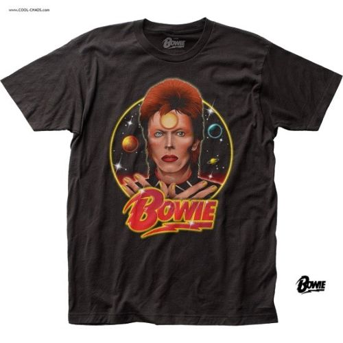 David Bowie T-Shirt / Retro New,Bowie Space Oddity Rock Tee