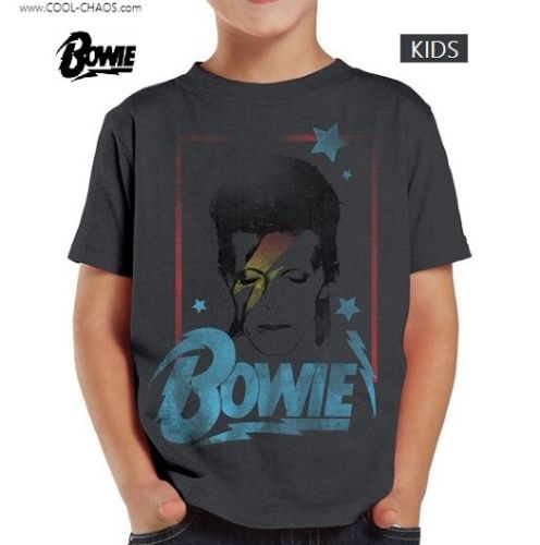 David Bowie Starman T-Shirt / Throwback Bowie Concert Toddler Tee