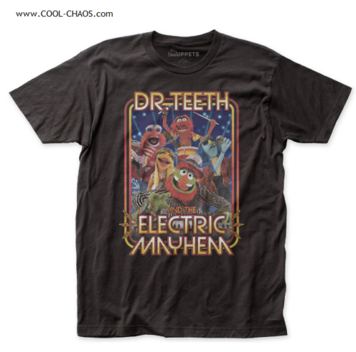The Muppet Show T-Shirt / The Muppets Dr.Teeth and the Electric Mayhem Band Tee