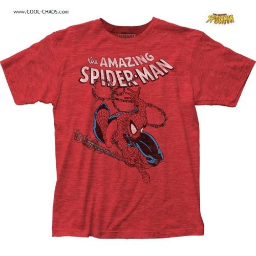The Amazing Spider-Man T-Shirt / Marvel Comics Spidey Comic Book Tee
