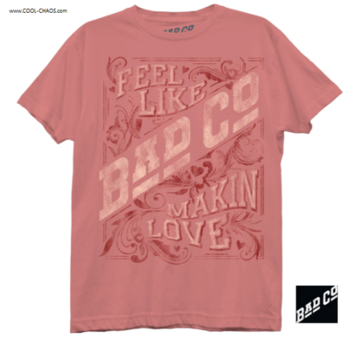 Bad Company T-Shirt / Feel like Makin' Love Boyfriend-Style Juniors Tee