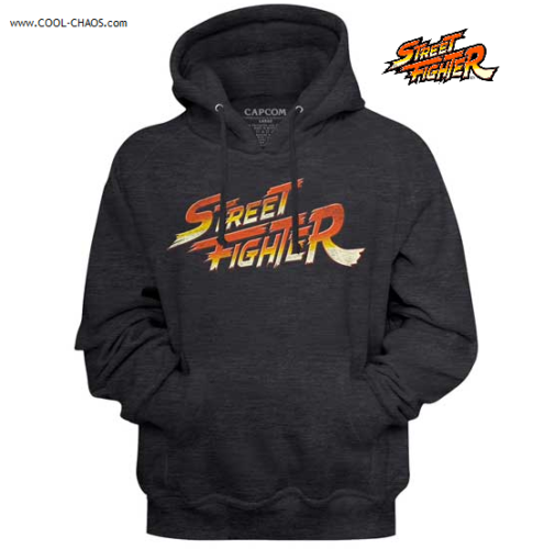 Street Fighter Hoodie / 80's Video Game Throwback Hoodie