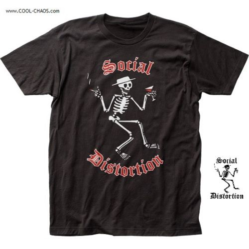 Social Distortion T-Shirt / Smokes and Martini-Punk Rock Tee
