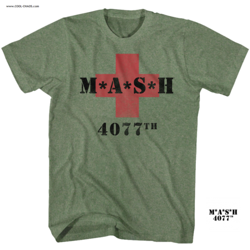 M*A*S*H TV Show T-Shirt /,MASH 4077th Red Cross Tee