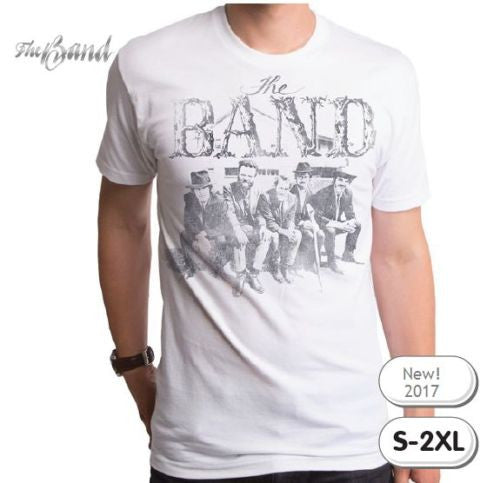 The Band T-Shirt / Retro Rock Tee / Official The Band Apparel