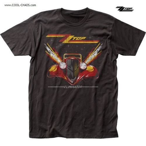 ZZ Top T-Shirt / 80's,Rock,ZZ Top Eliminator Album 1933 Ford coupe Tee