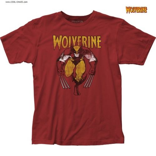 Classic Wolverine T-Shirt / Official Marvel Wolverine Comic Tee