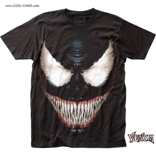 Sinister Venom T-Shirt by Marvel Comics - Official Venom Comic Book Tee