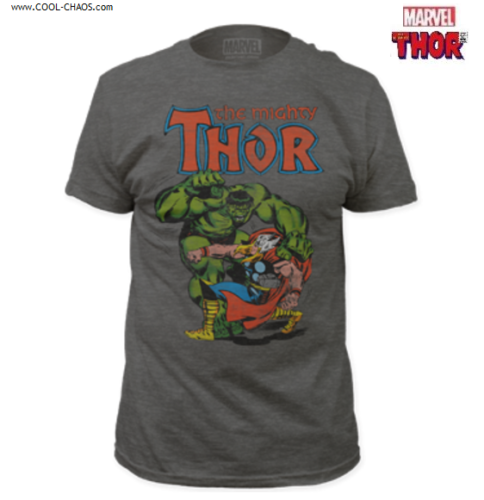 The Mighty Thor vs. The Incredible Hulk T-Shirt / Thor Comic Book Tee by Marvel