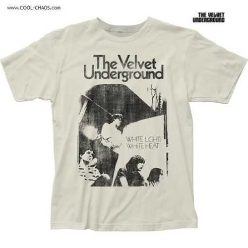 The Velvet Underground T-Shirt / Velvet Undergrout White Light / White Heat Tee