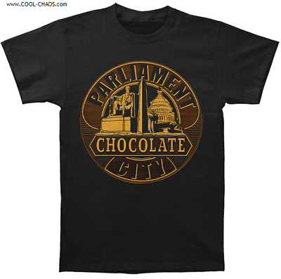 Parliament T-Shirt / Parliament Chocolate City Rock Tee