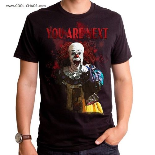 Pennywise T-Shirt / You are Next! Pennywise the Clown IT Tee