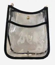 Ahdorned Clear Petite Messenger Without Strap - Brave Boutique