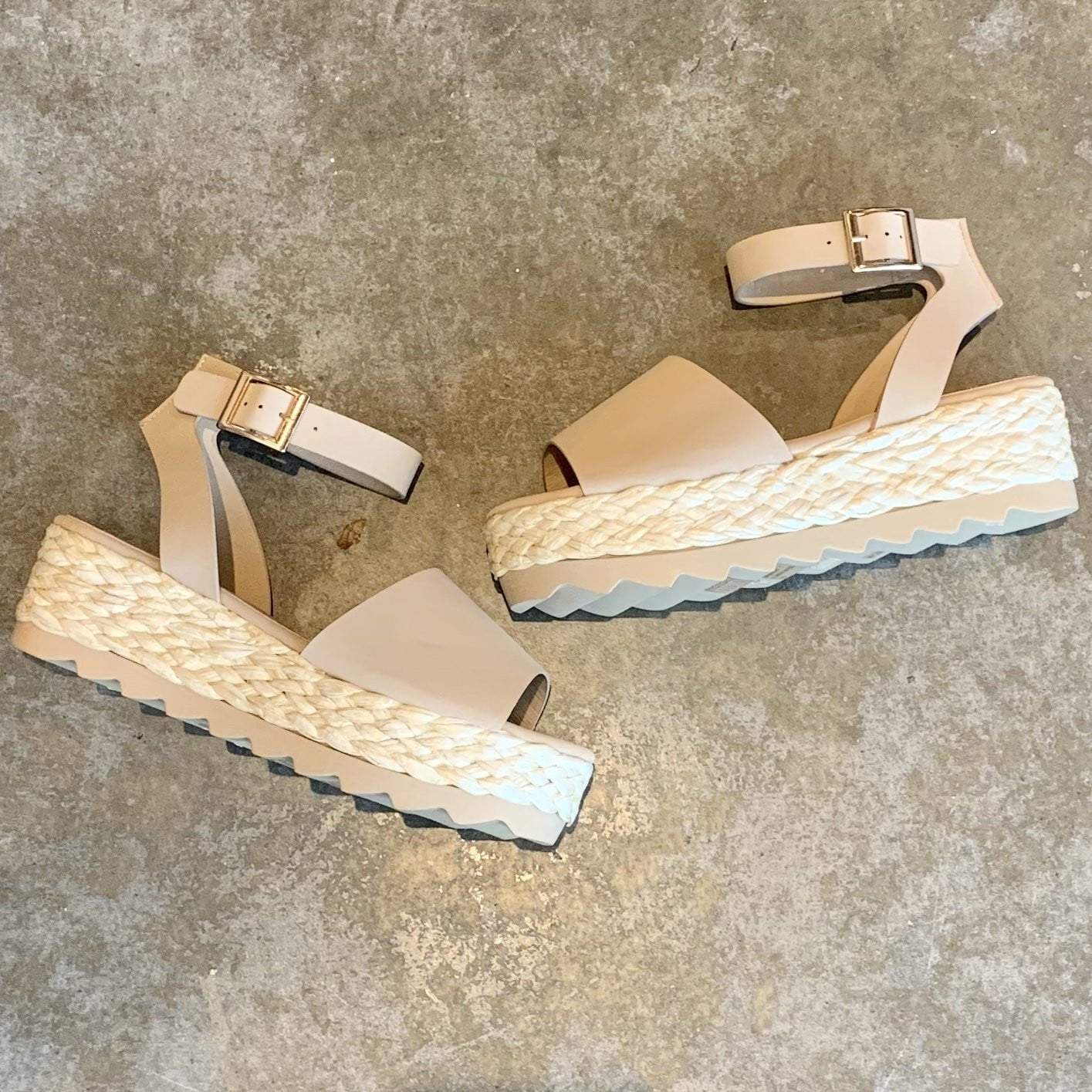 Abundance Platform Wedge - Brave Boutique