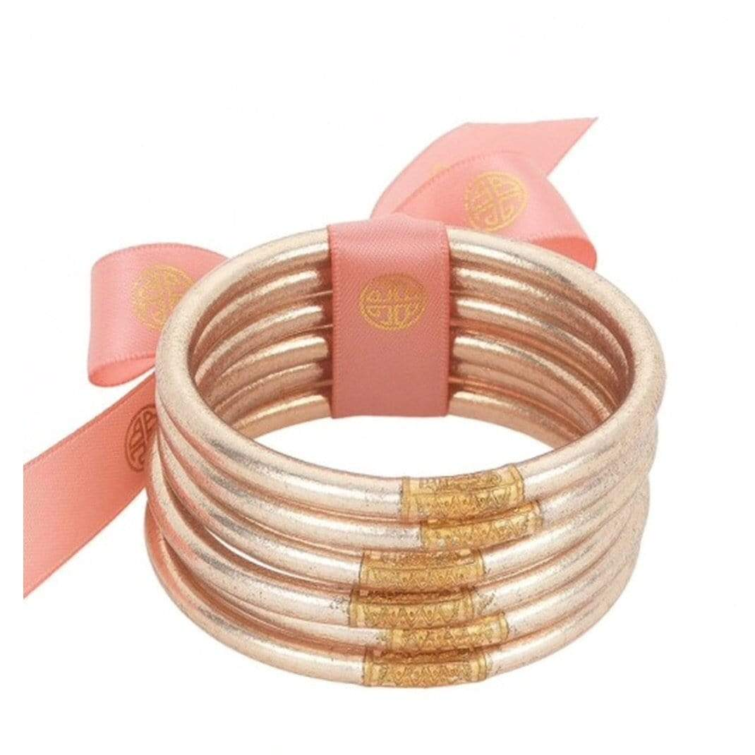 BuDhaGirl Champagne Bangles - Brave Boutique