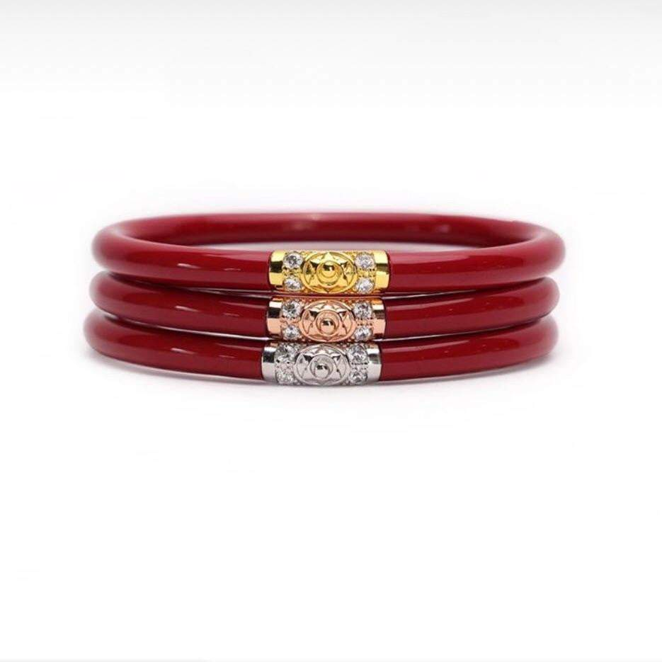 BuDhaGirl Red King Bangles - Brave Boutique