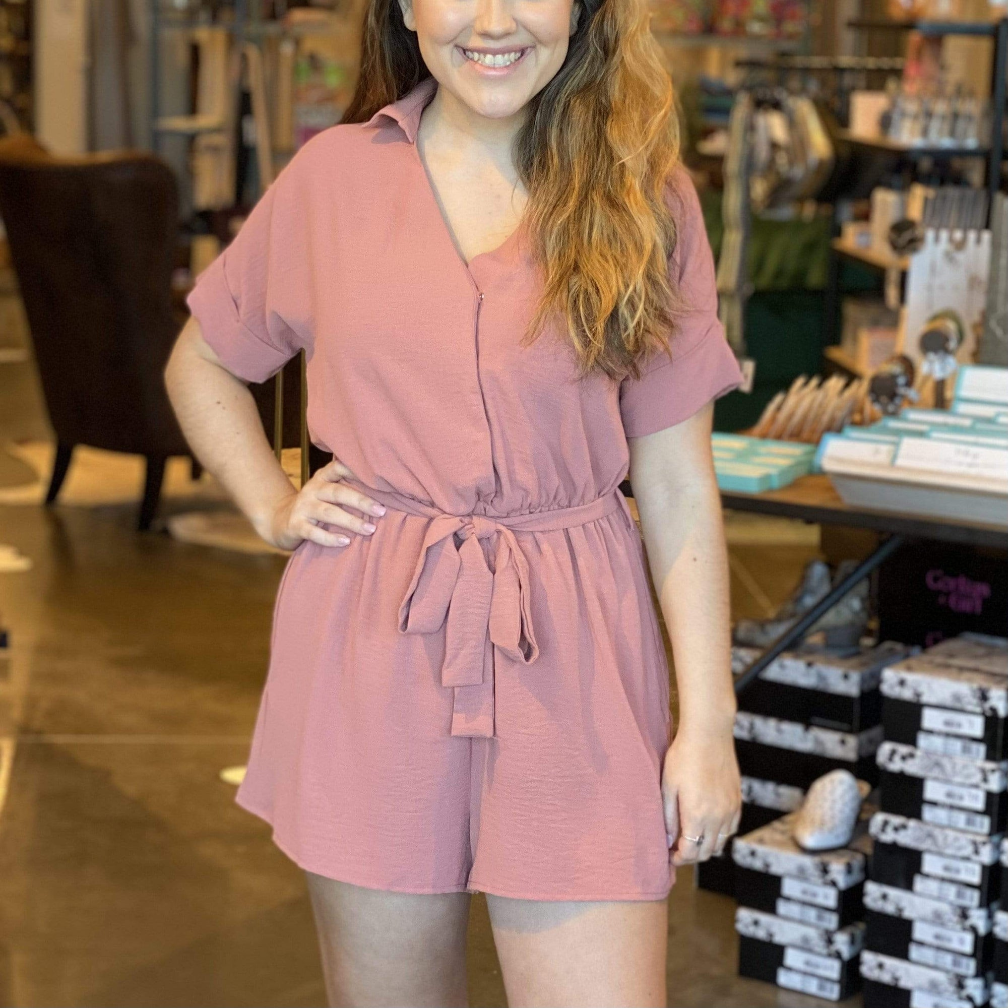 Spice It Up Romper - Brave Boutique