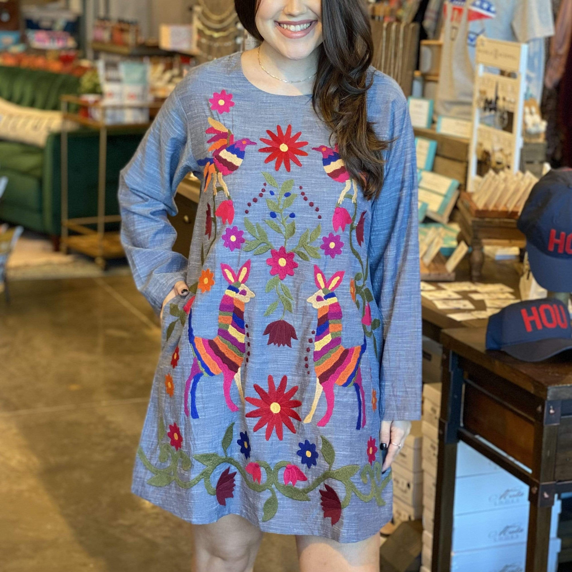 Sister Mary Llama Love Dress - Brave Boutique